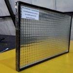 Армированное стекло, 6мм, резка